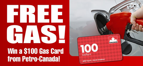 Petro-Canada $100 Gift Card from MoneySaver.ca