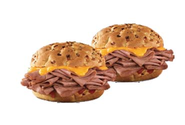 Arby's - 2 Beef Sandwiches $14