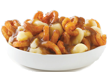 Arby's - Curly Fries Poutine $3.49