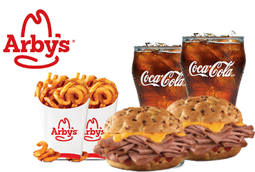Arby's - 2 can Dine for $13.99