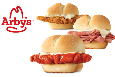 Arby's - 3 Sliders for $5