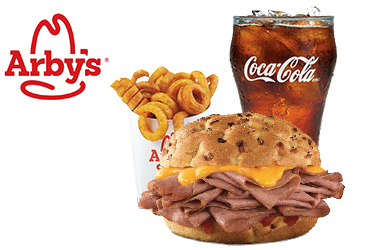 Arby's - $7.99 Classic Beef N' Cheddar Combo