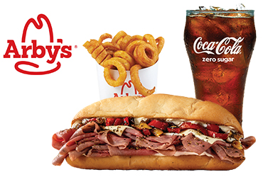 Arby's - $9.99 Fire-Roasted Philly Combo