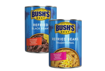 - $1 OFF Bush's Best Refried Beans