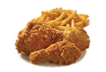 - 2 pc Chicken Meal $5.99