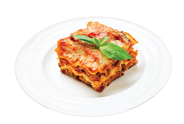 - 3 Lasagna $18.99 + Tax