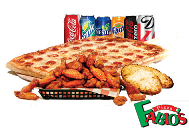 "- 15"" Large One Pizza For $11.99"