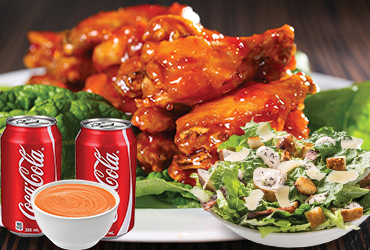 Foodzito Pizza and Grill - Mega Wings Deal