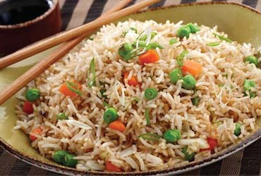- FREE House Fried Rice off