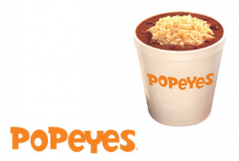 Popeyes Chicken Coupon