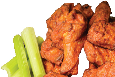- 2 LBS Chicken Wings $9.99 + Tax