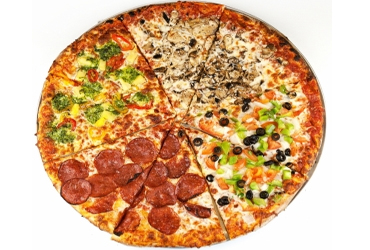 - 2 Large Pizzas $20.99 + Tax