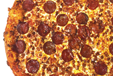 - $7 off large 3 topping pizza