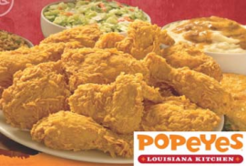 Popeyes Chicken HEAD OFFICE Coupon