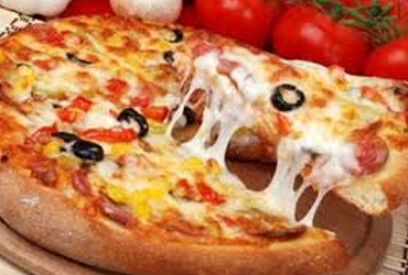 - 8 Slices Large Pizza $14.95 + Tax