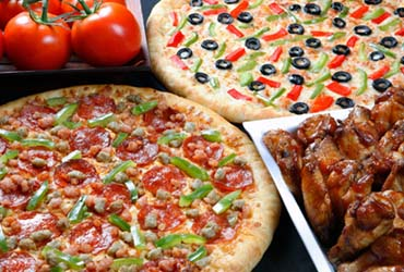 - X-Large Pizza $10.99 + Tax