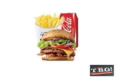 - 50% Off For Beef Burger Combo