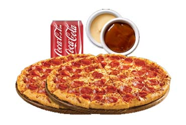 - 2 Large Pizza $20.99