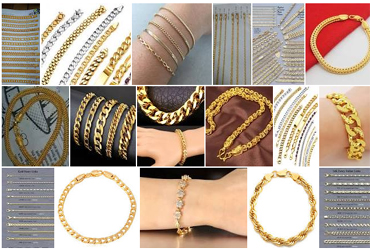 - 40% Off Gold Chains & Bracelets