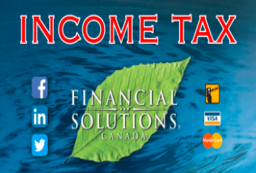 Financial Solutions Canada - Singles: Save $15 on Tax Return!