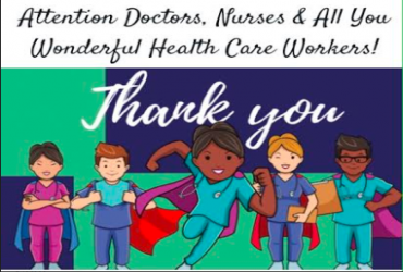 - Thank you to All Healthcare Workers